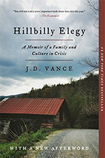 Hillbilly Elegy book cover image